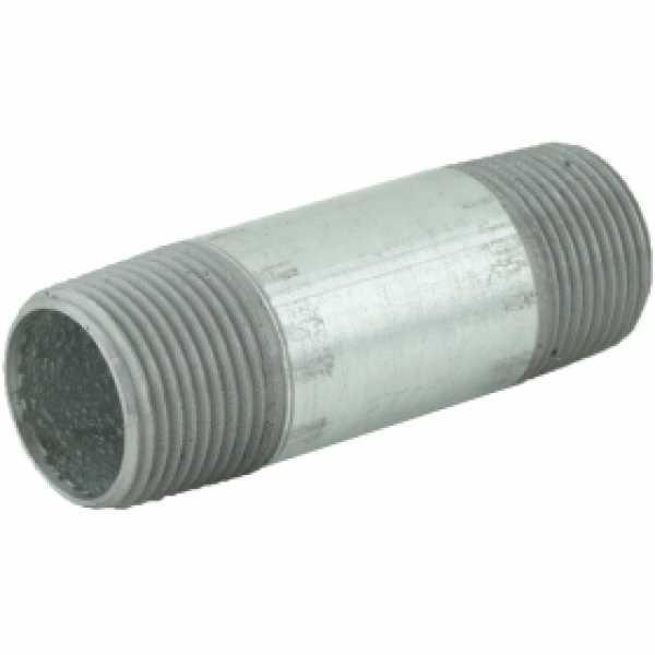 "3/4"" x 3"" Galvanized Steel Pipe Nipple"