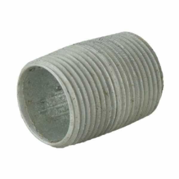 "3/4"" x Close Galvanized Steel Pipe Nipple"
