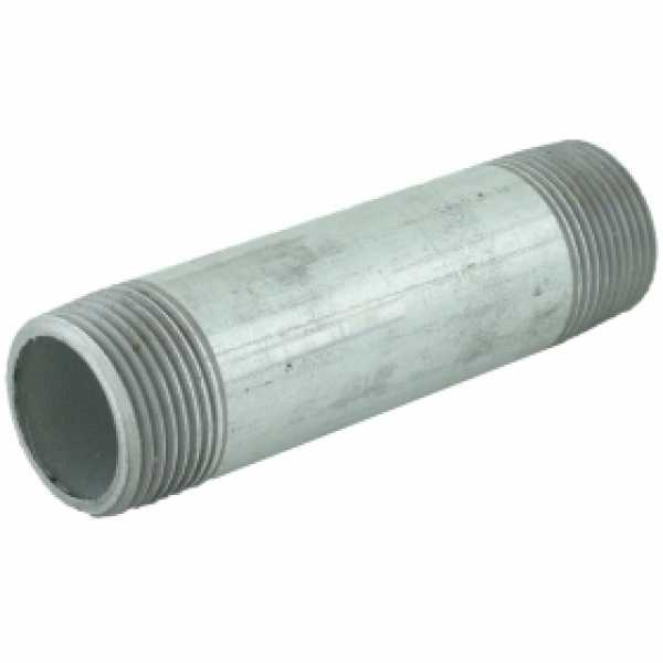 "1"" x 4-1/2"" Galvanized Steel Pipe Nipple"