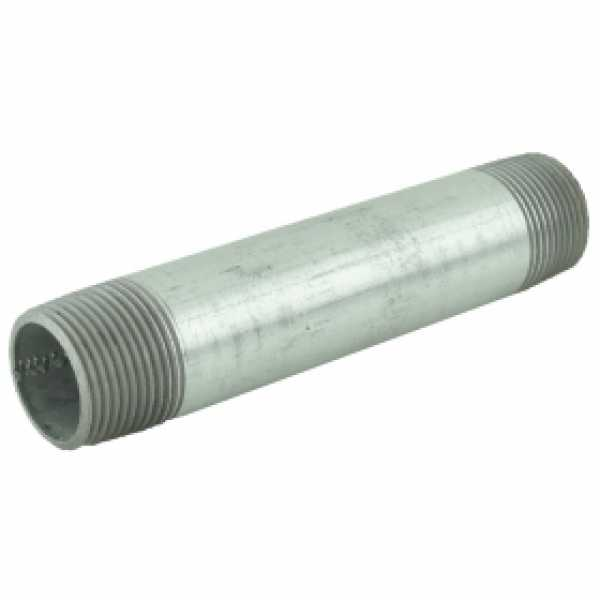 "1"" x 6"" Galvanized Pipe Nipple"
