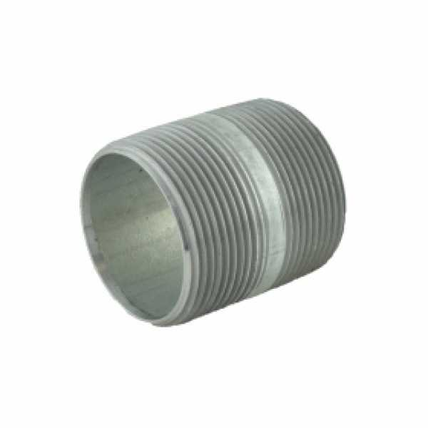 "1-1/2"" x 2"" Galvanized Steel Pipe Nipple"