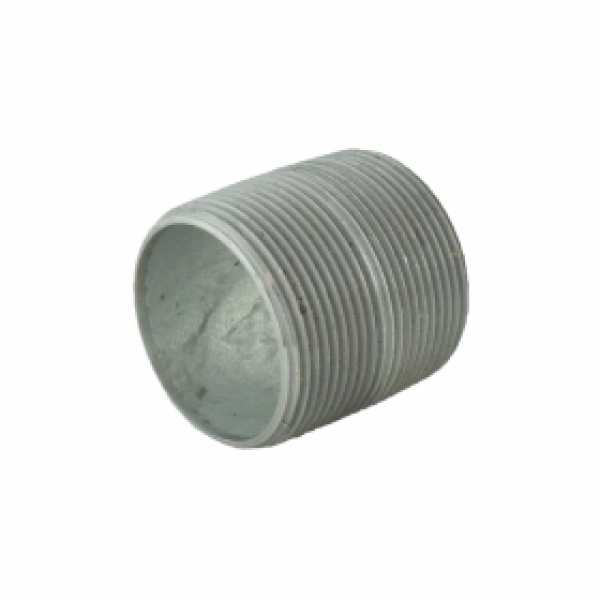 "1-1/2"" x Close Galvanized Pipe Nipple"