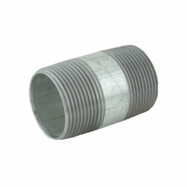 "1-1/4"" x 2-1/2"" Galvanized Steel Pipe Nipple"