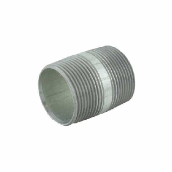 "1-1/4"" x 2"" Galvanized Steel Pipe Nipple"