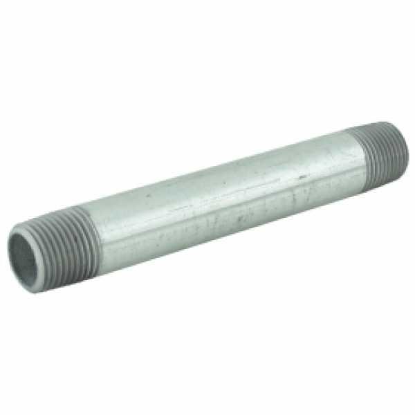 "1/2"" x 5-1/2"" Galvanized Steel Pipe Nipple"