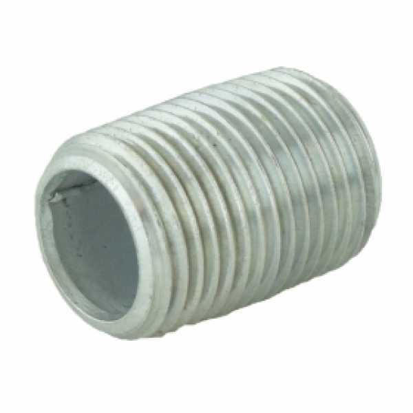 "1/2"" x Close Galvanized Steel Pipe Nipple"
