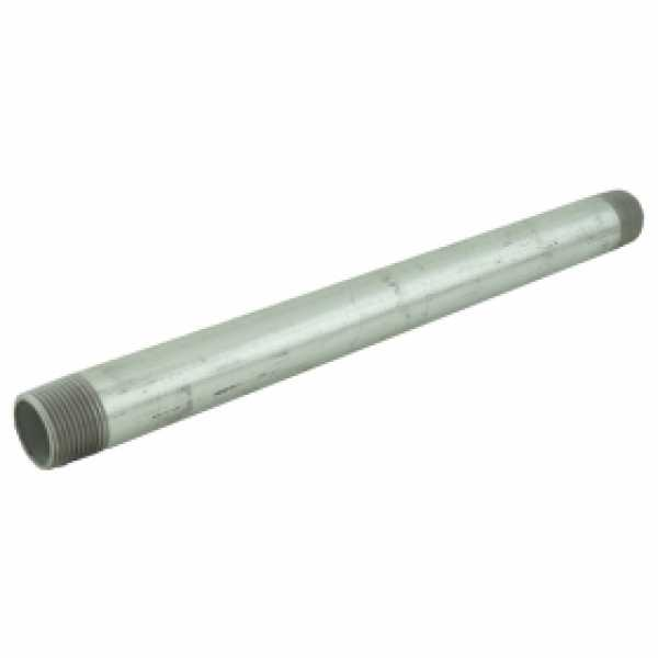 "3/4"" x 12"" Galvanized Steel Pipe Nipple"