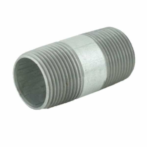 "1"" x 2-1/2"" Galvanized Steel Pipe Nipple"