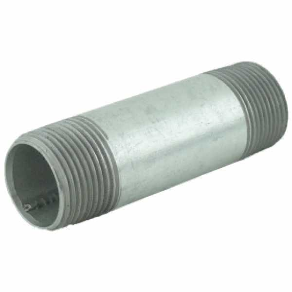 "1"" x 4"" Galvanized Steel Pipe Nipple"