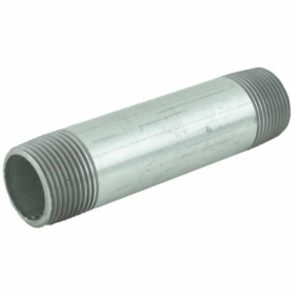 "1"" x 5"" Galvanized Steel Pipe Nipple"