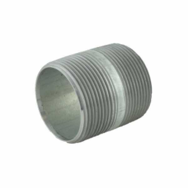"1-1/2"" x 2"" Galvanized Steel Pipe Nipple"