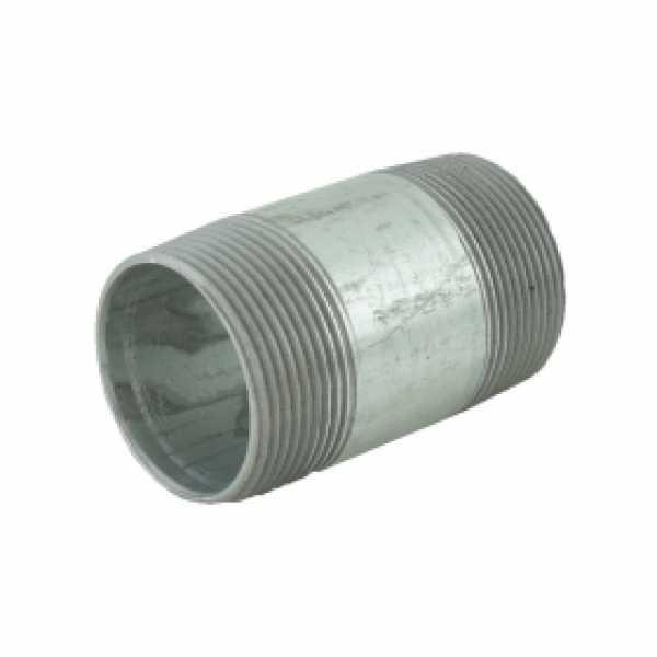 "1-1/2"" x 3"" Galvanized Steel Pipe Nipple"
