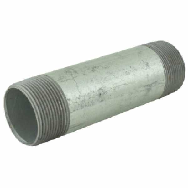 "1-1/2"" x 6"" Galvanized Steel Pipe Nipple"