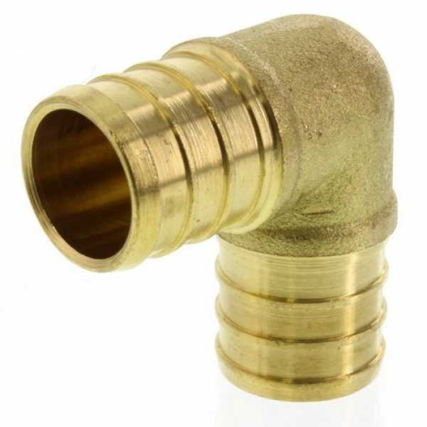 3/4' PEX x 3/4' PEX Brass Elbow (Lead Free)