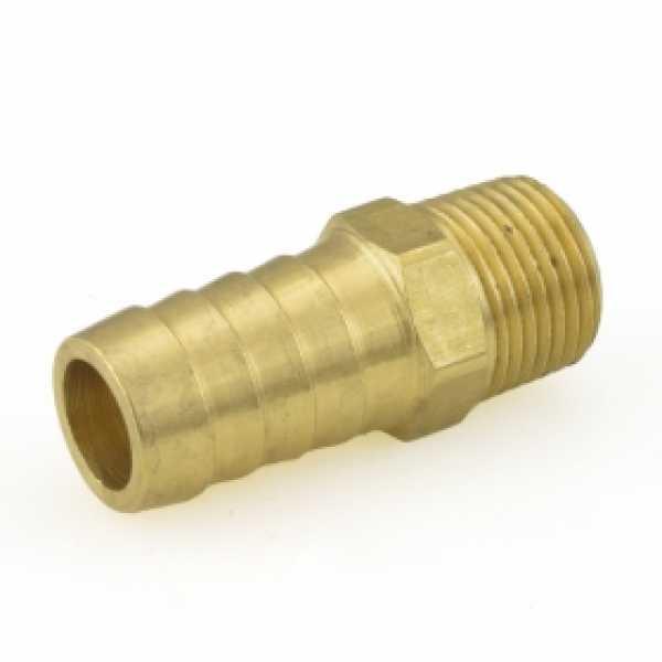 """5/8"""" Hose Barb x 3/8"""" MIP Brass Adapter"""
