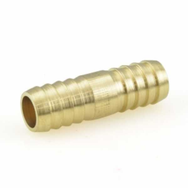 """1/2"""" Hose Barb Brass Splicer"""