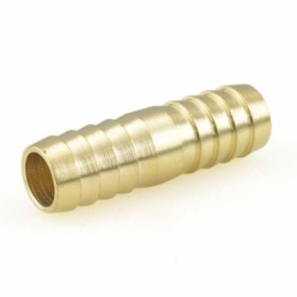 """5/8"""" Hose Barb Brass Splicer"""