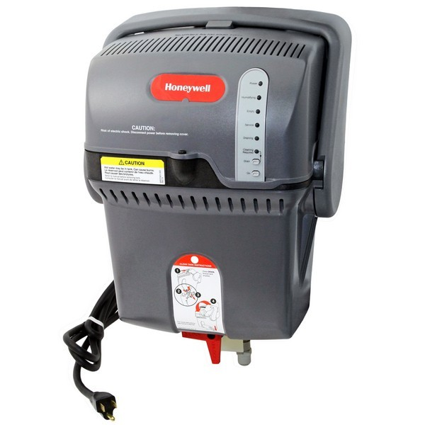 Honeywell HM509A2000 Steam Humidifier Kit, 9 gal per day, 34 F to 104 F