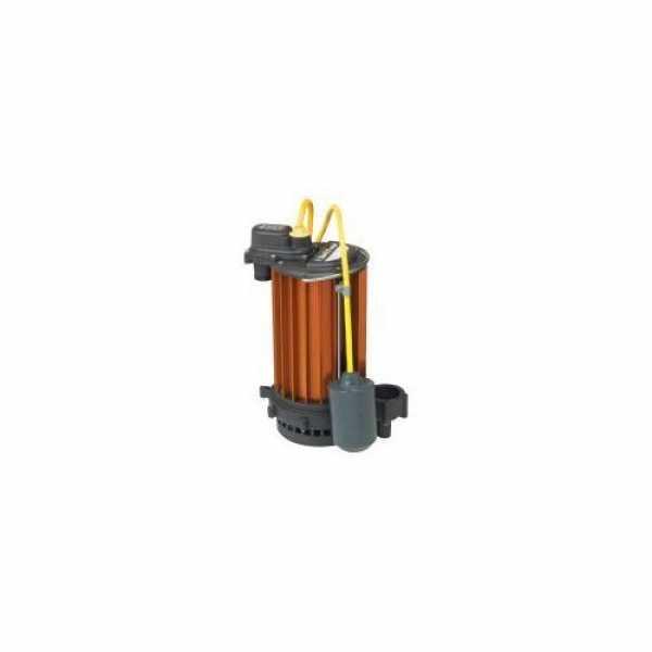 Liberty Pumps HT453-2, 1/2 HP Aluminum High/Temp Subm Sump Pump HT, Auto,115v