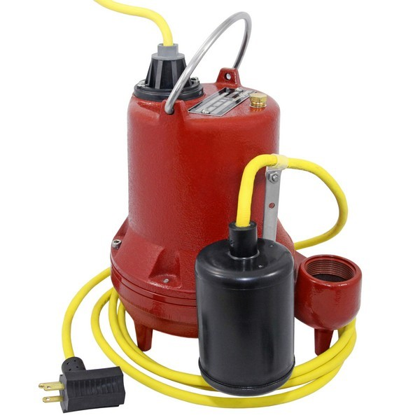 Liberty Pumps HT41A-2, 4/10 HP Auto. Sump Pump, Wide Angle Float Switch, 115V, 25Ft
