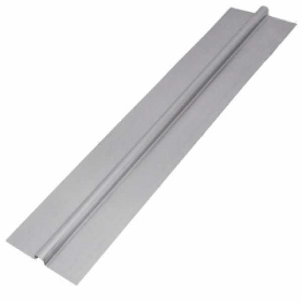 "4ft x 5"" 1/2"" PEX Aluminum Heat Transfer Plates (100/box), Omega-Shaped"