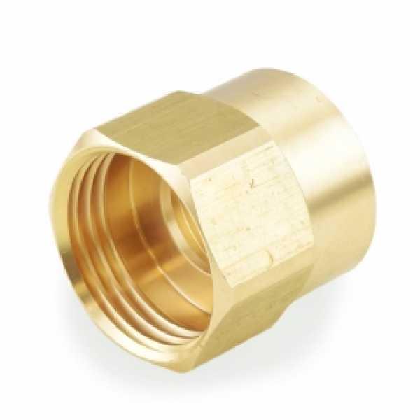 "3/4"" FGH x 3/4"" FIP Brass Adapter, Lead-Free"