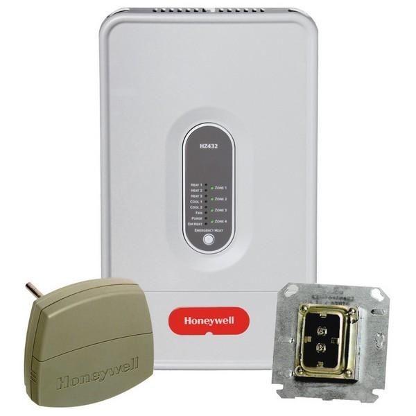 Honeywell HZ432K 24V Zone Valve Control (4 Zone, Expandable)