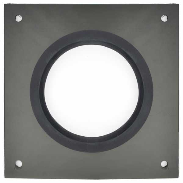 """Round Wall Plate for 4"""" Innoflue SW"""