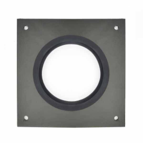 "Square Wall Plate for 2"" Innoflue SW"