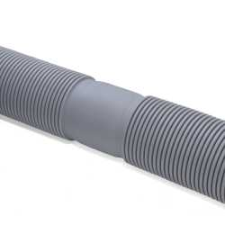 "3"" Innoflue Flex Corrugated Vent Pipe - sold by 2ft"