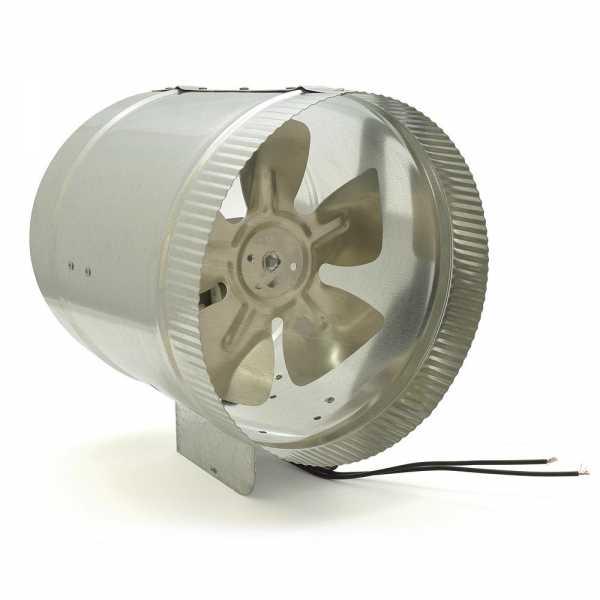 "Tjernlund EF-8 8"""" Line Duct Booster Fan, 325 cfm"