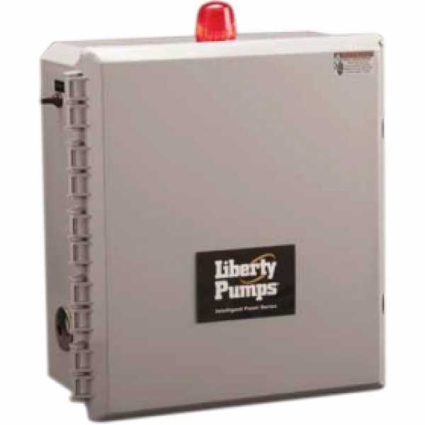 """Liberty Pumps IPS-54-121 3 Phase IP-Series control panel w/ Float-less Switch, 20"""" Cord  (1.6 - 2.5 Amp; 575V)"""