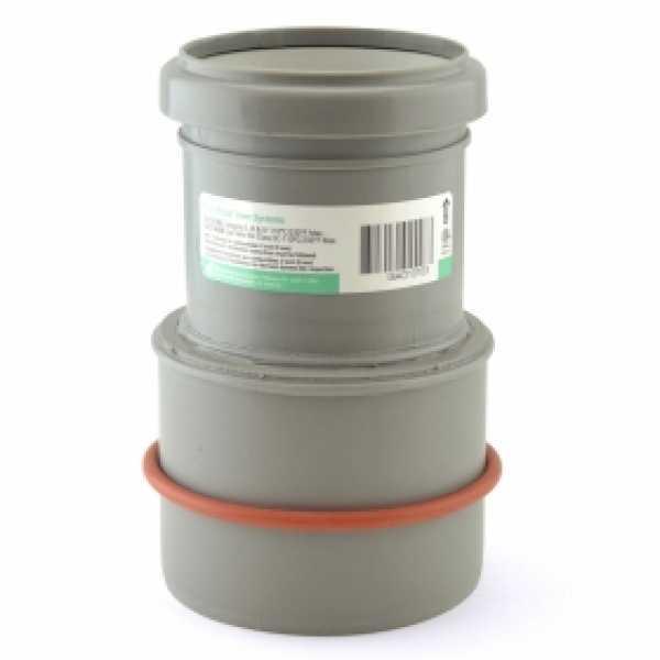 "4"" PVC (100/101mm) to 3"" Innoflue SW Appliance Adapter"