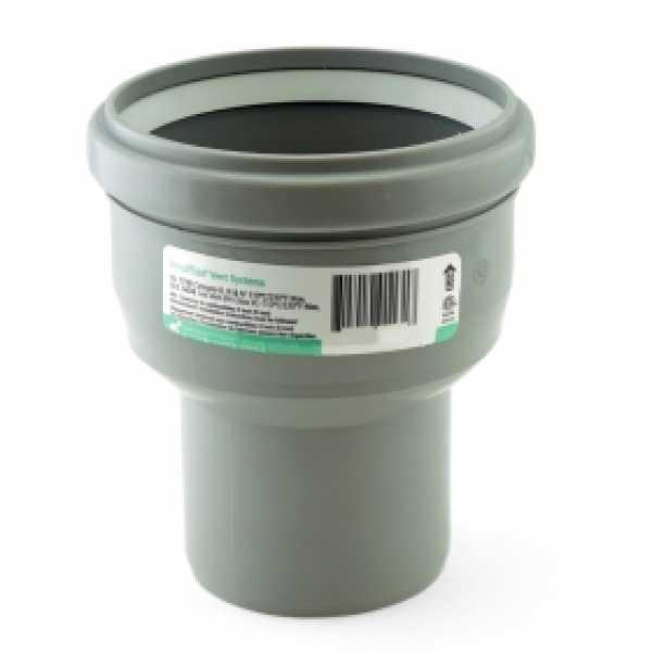 "4"" PVC (100mm) to 4"" Innoflue SW Centric Increaser"