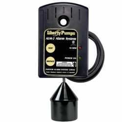 Indoor High Liquid Level Alarm w/ 20' Cord, 86 db horn