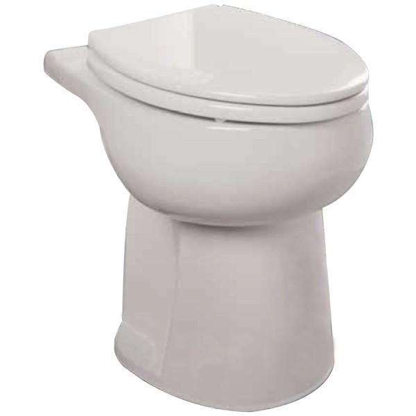 Liberty Pumps ASCENTII-RW Toilet Bowl for Ascent II, Round, White