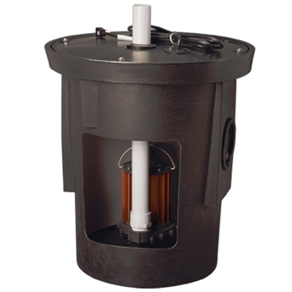 Liberty Pumps SPAC-237 Sump Pump, 1/3 HP Assembled Sump Pump Package