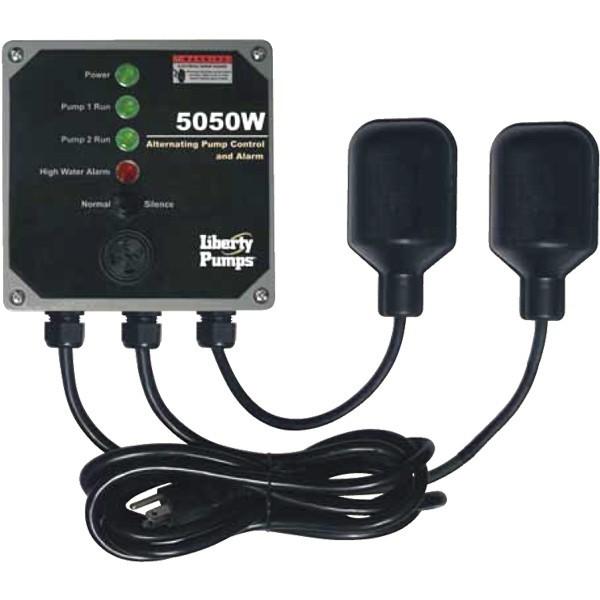 Liberty Pumps 5050W Duplex Sump Pump Control