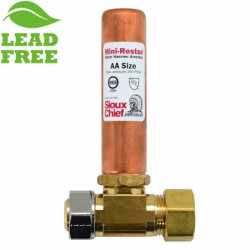 "Sioux Chief 660-GTR Mini-Rester Water Hammer Arrestor, 5/8"" O.D. compr. x 5/8"" O.D. female compr. Tee"