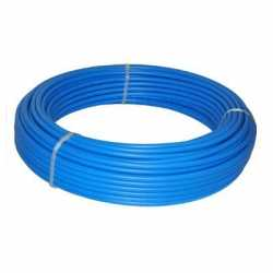"Everhot NPB1001 1"" x 100 ft PEX Plumbing Pipe, Non-Barrier (Blue)"