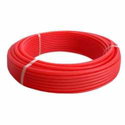 "Rifeng NBP1-100R PEX Tubing, 1"" x 100 ft, Non-Barrier, Red"