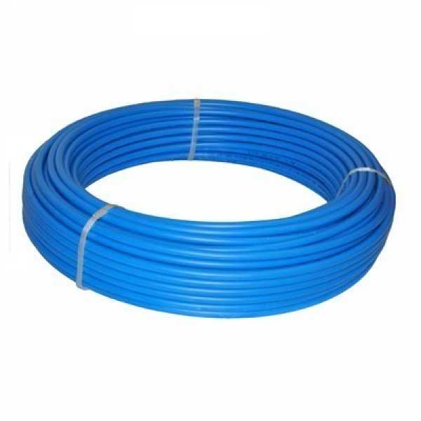 """1"""" x 100 ft. PEX Plumbing Pipe, Non-Barrier (Blue)"""