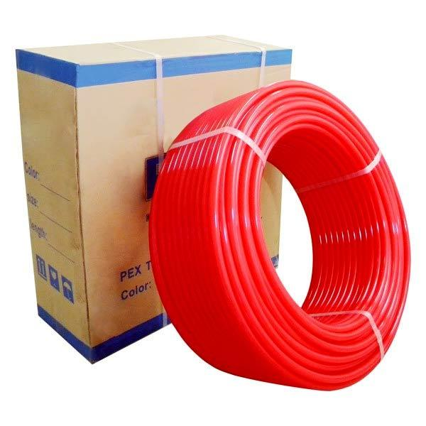 """1/2"""" x 500 ft. PEX Plumbing Pipe, Non-Barrier (Red)"""