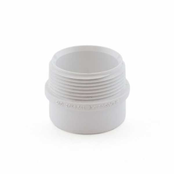 "1-1/2"" PVC DWV Male Trap Adapter (Spigot x Tubular Slip)"
