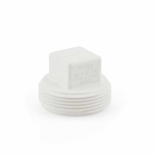 """1-1/2"""" PVC DWV Cleanout Plug"""