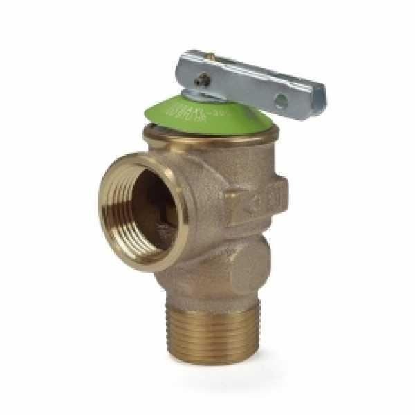 "3/4"" Pressure Relief Valve, 30 psi (Lead-Free)"