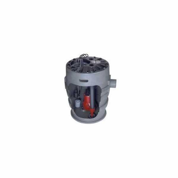 "Liberty Pumps P372LE71 3/4 HP Sewage Pump System - 115v - 2"" Discharge - 21"" x 30"" Basin"