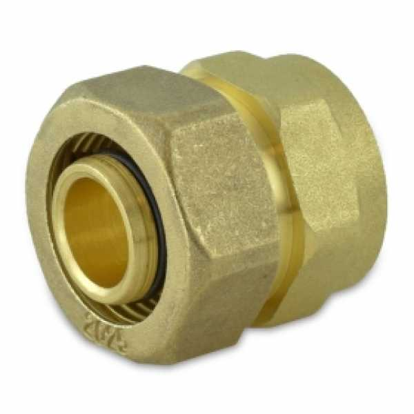 "3/4"" PEX-AL-PEX Compression x 3/4"" Female Threaded Adapter"