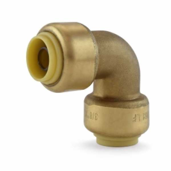 "3/8"" x 3/8"" Push To Connect Elbow, Lead-Free"
