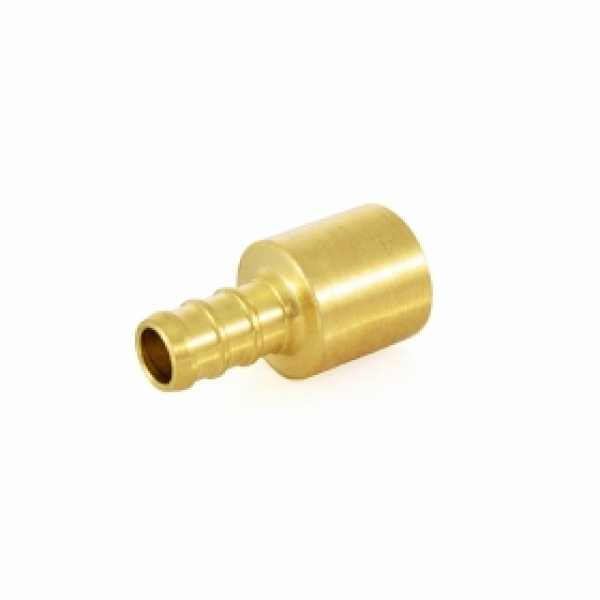 "3/8"" PEX x 1/2"" Copper Fitting Adapter (Lead-Free)"